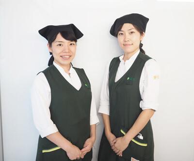藤村さん(左)と松下さん(右)