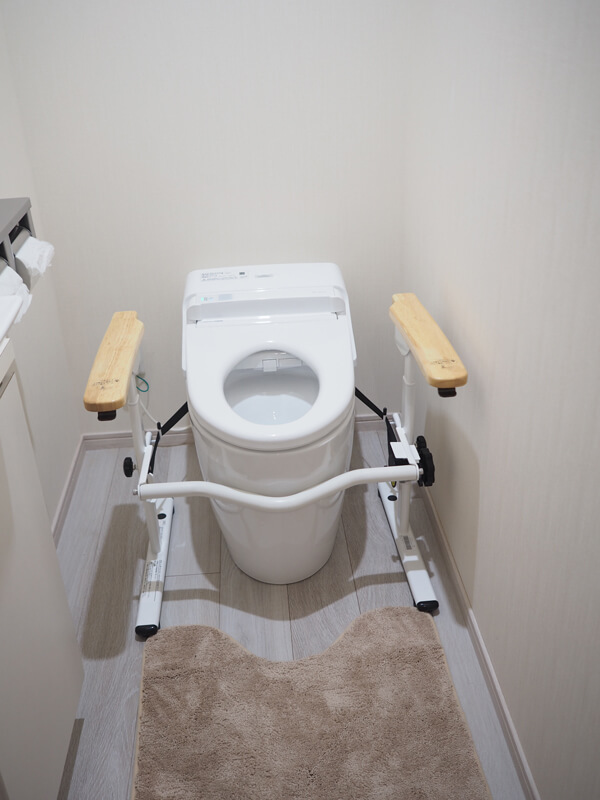 トイレの補助手すり