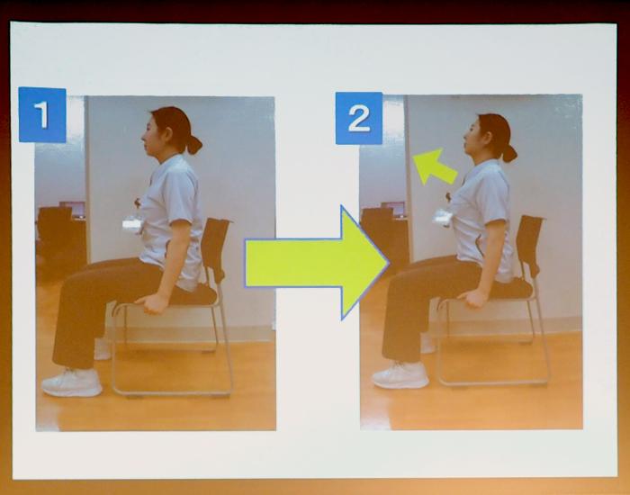 「胸ひらき」ストレッチのやり方の説明写真
