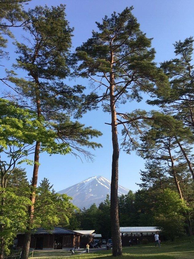 大迫力の富士山ロケーション